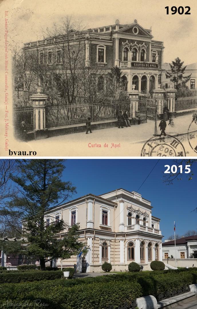 Fosta casă Lambrinidis, construită în 1880 şi cumpartă de Primăria Galaţi cu destinaţia de a fi Curte de Apel. 15.XI.1902